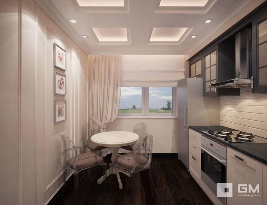 3-х комнатная квартира на ул. Абрамцевская Кухни в эклектичном стиле от GM-interior Эклектичный