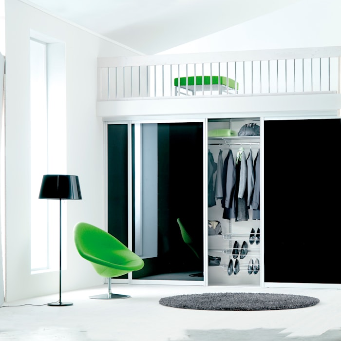 Modern Corridor, Hallway and Staircase by Elfa Deutschland GmbH Modern