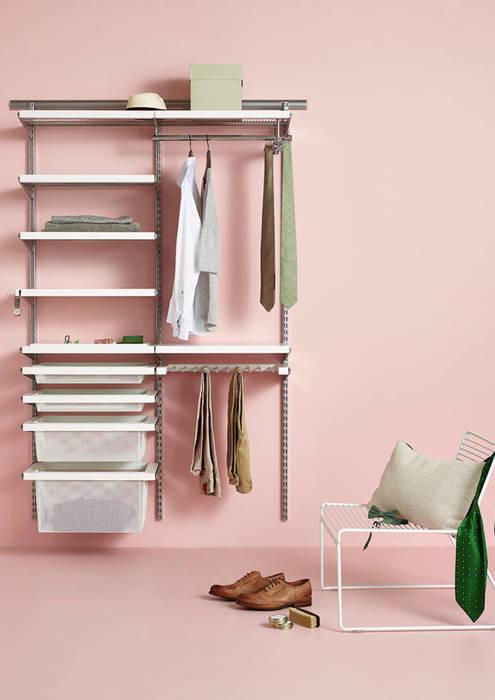 Walk in closet de estilo  por Elfa Deutschland GmbH,