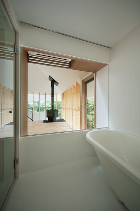 Baños de estilo  de AIDAHO Inc., Moderno