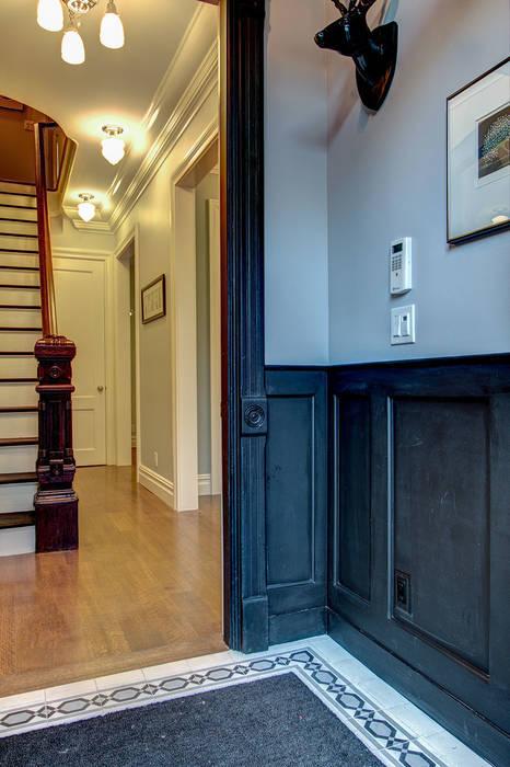 Brooklyn Townhouse Koridor & Tangga Klasik Oleh Ben Herzog Architect Klasik