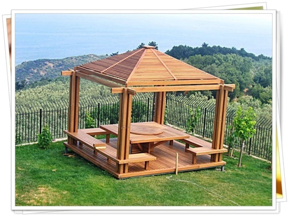 Rustic style balcony, veranda & terrace by homify Rustic