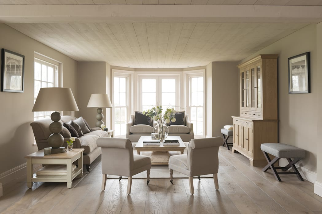 Interiors:  Living room by Adam Carter Photo