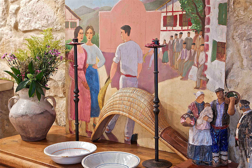 La cultura del txoko tradicional. de Urbana Interiorismo Rústico