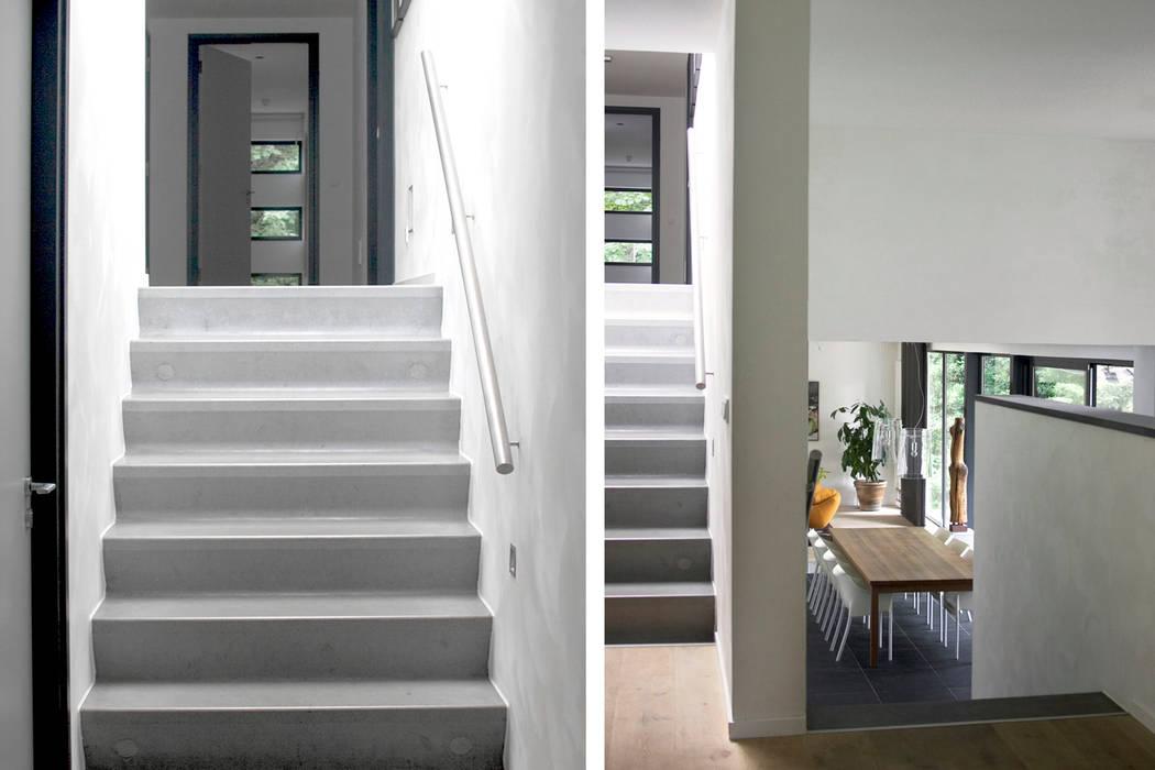 Villa Vught Industriële gangen, hallen & trappenhuizen van Doreth Eijkens | Interieur Architectuur Industrieel