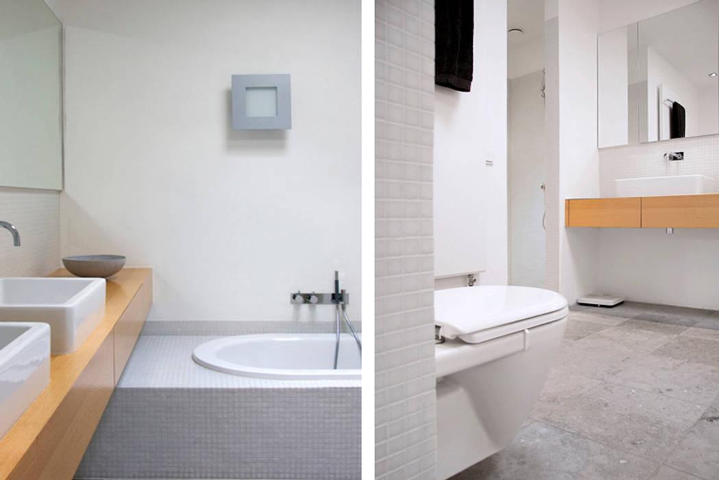 Villa Vught:  Badkamer door Doreth Eijkens | Interieur Architectuur