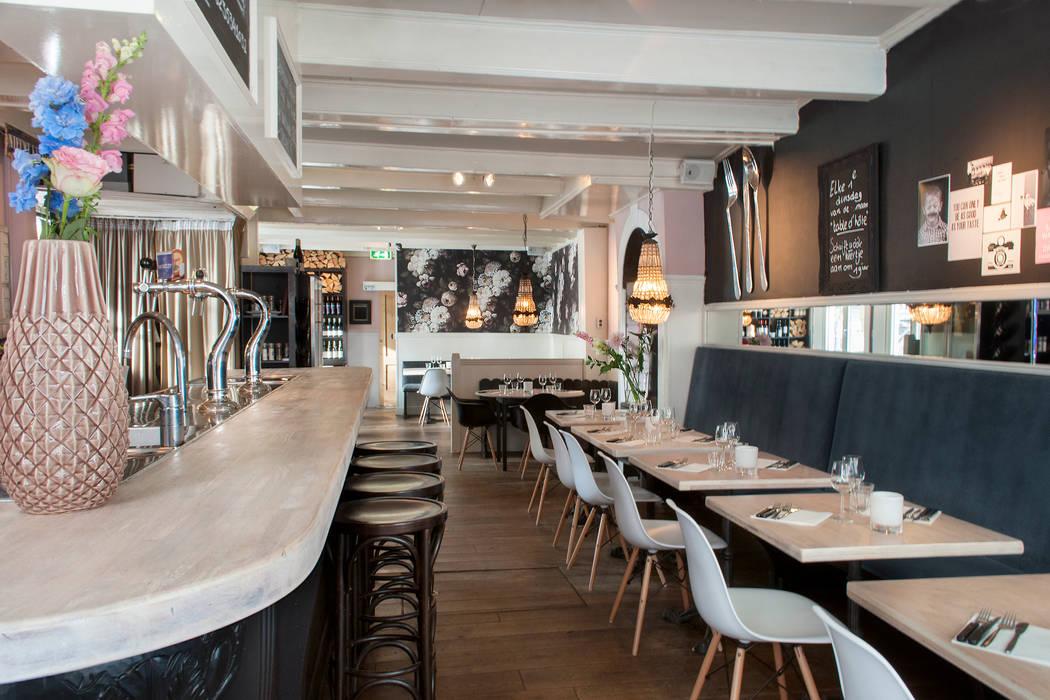 oude en nieuwe elementen gecombineerd:  Gastronomie door IJzersterk interieurontwerp