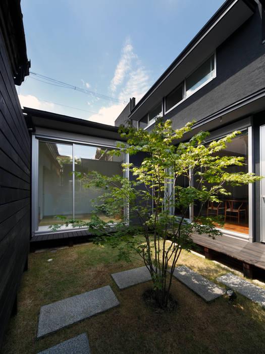 光庭 モダンな庭 の atelier m モダン