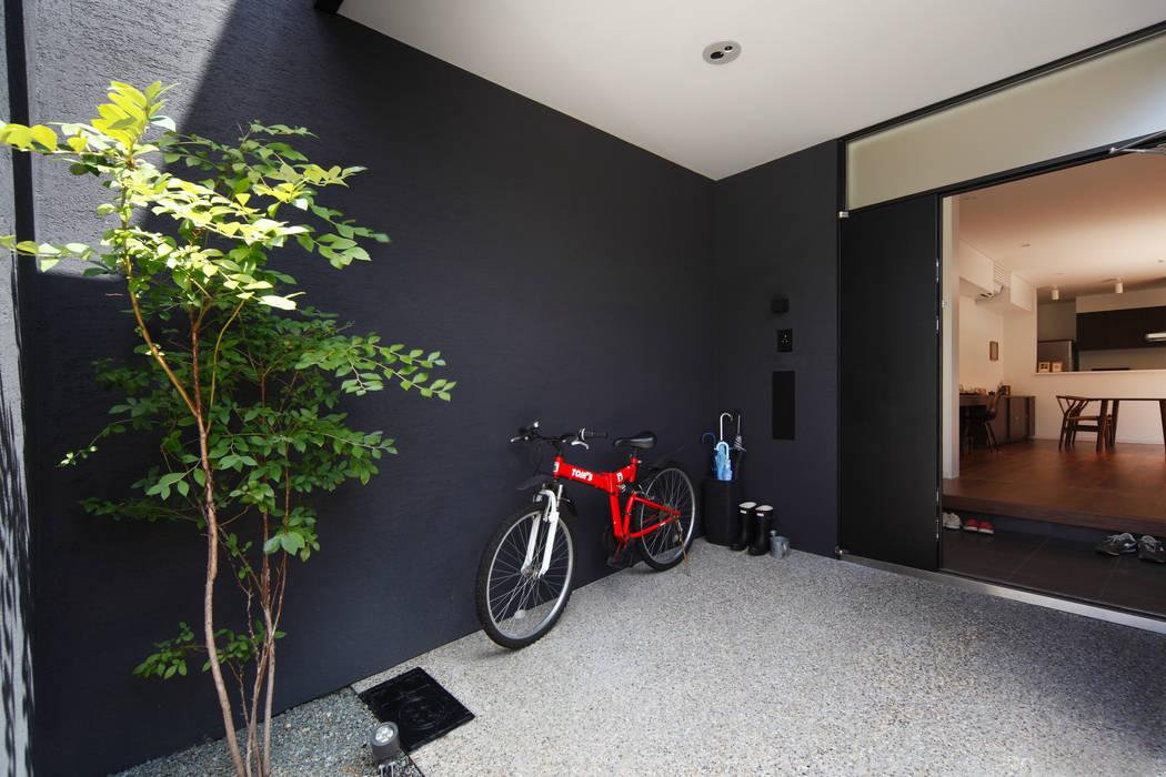駐輪場: atelier mが手掛けた家です。