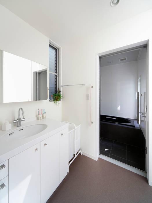 洗面: atelier mが手掛けた浴室です。
