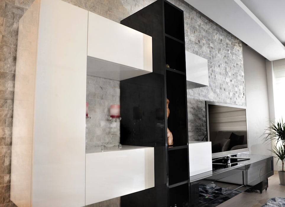 As Tasarım - Mimarlık – C.A.ŞEKERCİ ALSANCAK EVİ:  tarz Yemek Odası, Modern