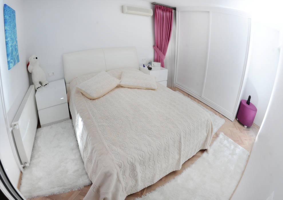 C.A.ŞEKERCİ ALSANCAK EVİ Modern Yatak Odası As Tasarım - Mimarlık Modern