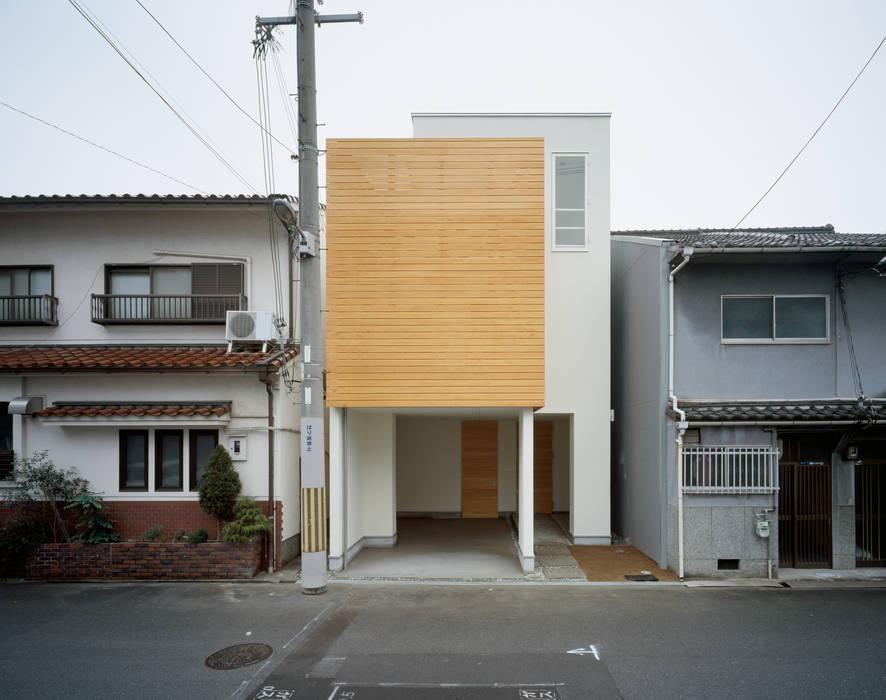 Casas de estilo escandinavo de 井戸健治建築研究所 / Ido, Kenji Architectural Studio Escandinavo