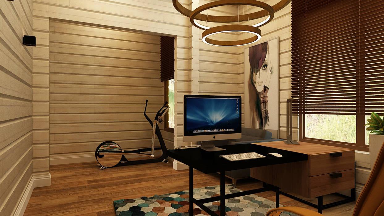 Minimalist study/office by Apolonov Interiors Minimalist
