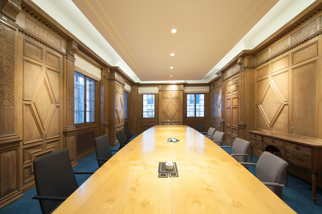 The Boardroom Classic office buildings by Elektra Lighting Design Classic