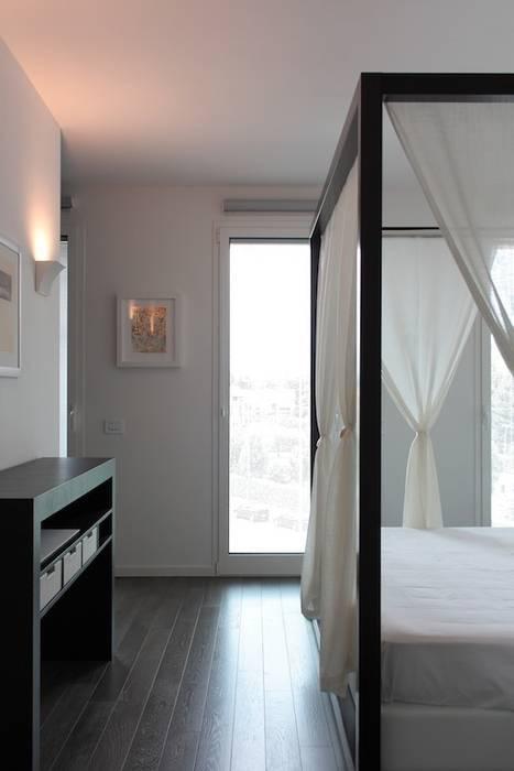 Letto a baldacchino Francesca Bonorandi Camera da letto minimalista