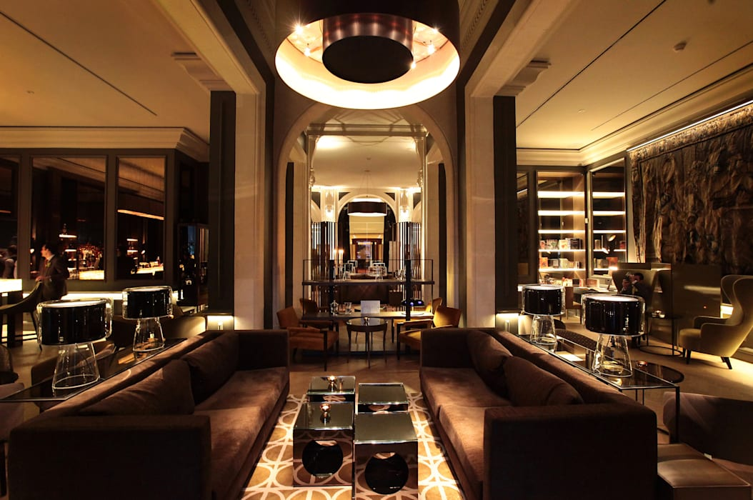 Bar:  Hotels by Elektra Lighting Design,