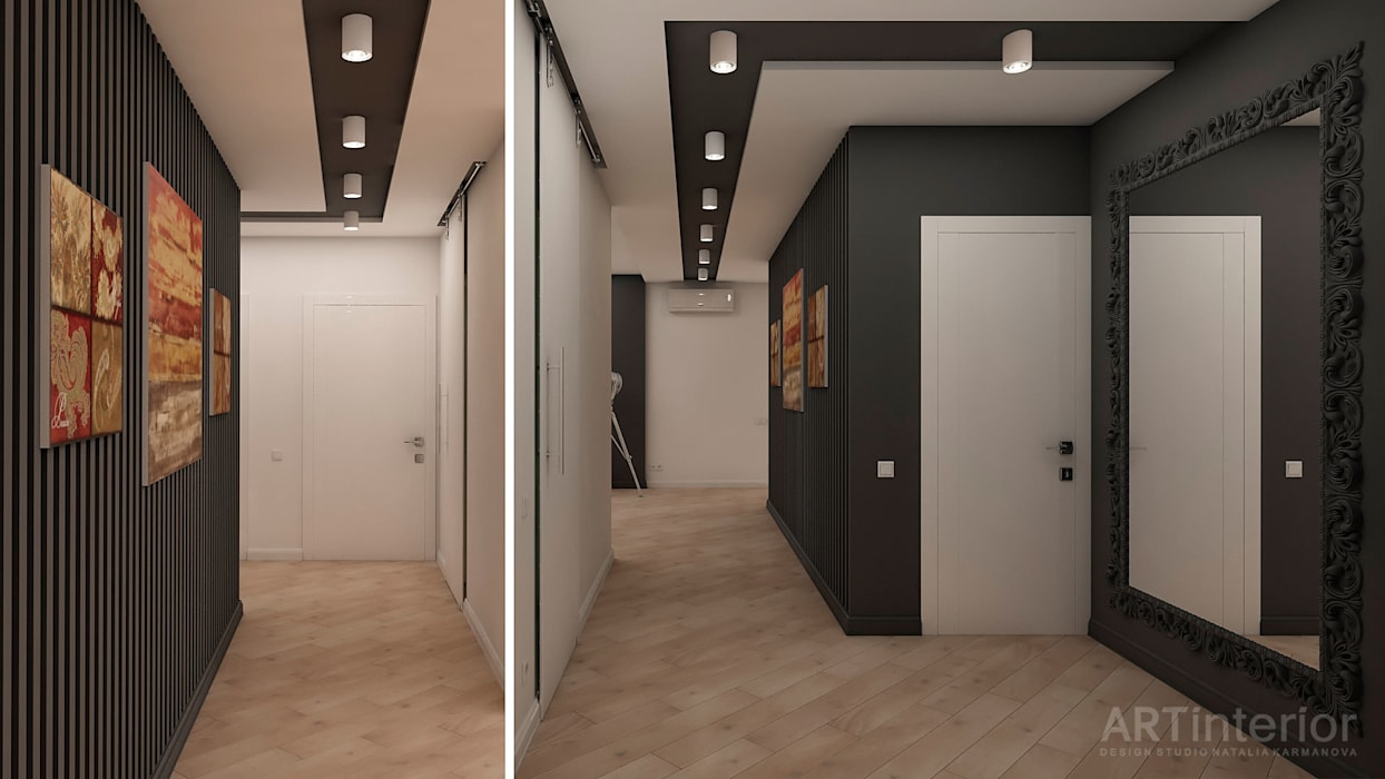 Дизайн интерьера квартиры в Киеве от «Artinterior» «Artinterior» – Студия дизайна интерьера Гостиная в стиле модерн