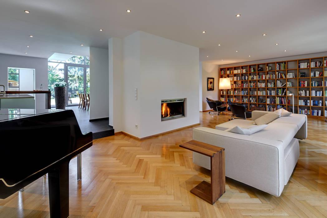 Architekturbüro Lehnen Вітальня