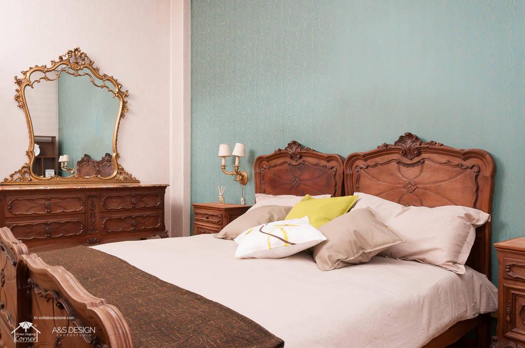 Camera Matrimoniale Stile Antico.Una Camera Da Letto Dal Sapore Antico Di Home Staging Corner Homify