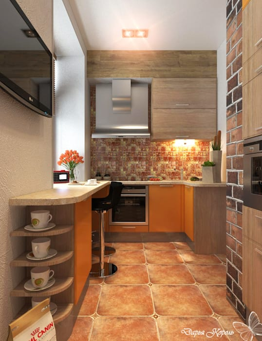 Industrial style kitchen by Your royal design Industrial