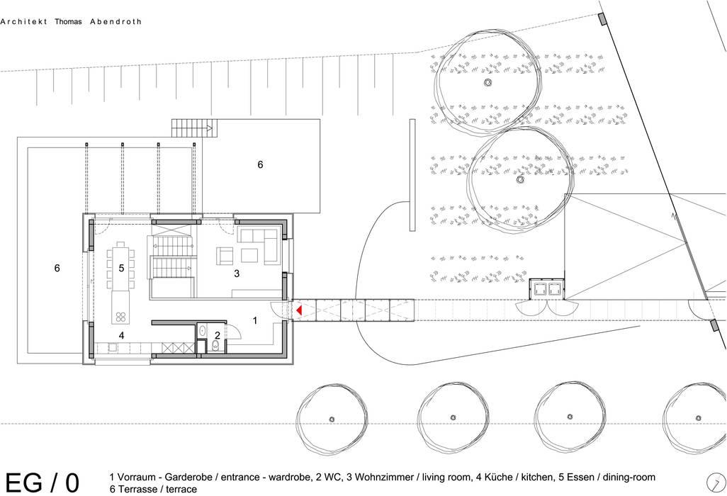 Erdgeschoß:   von Abendroth Architekten,