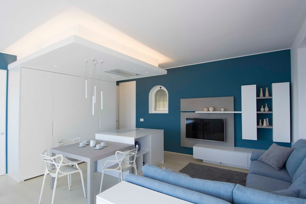 Salon moderne par Architetto ANTONIO ZARDONI Moderne