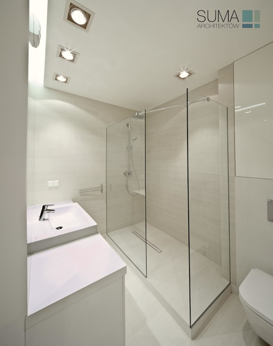 Badkamer door SUMA Architektów