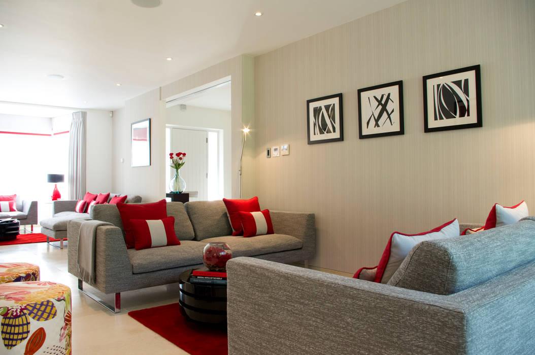 Contemporary Living room โดย LLI Design โมเดิร์น