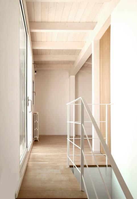 Giandomenico Florio Architetto 現代風玄關、走廊與階梯