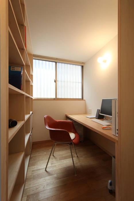 書斎 北欧デザインの 書斎 の 青木昌則建築研究所 北欧