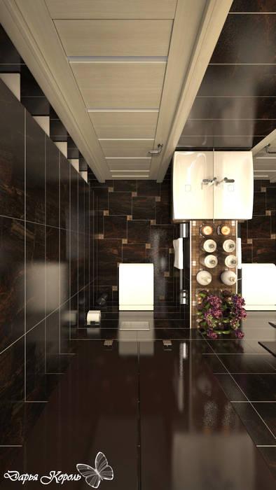 Guest WC: Ванные комнаты в . Автор – Your royal design,