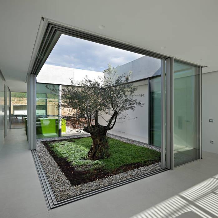 KELLER minimal windows® - filigrane Festfenster und Schiebetüren Mediterrane Fenster & Türen von KELLER AG Mediterran