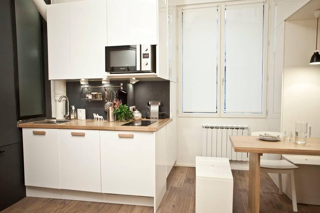 Kitchen by Géraldine Laferté, Scandinavian