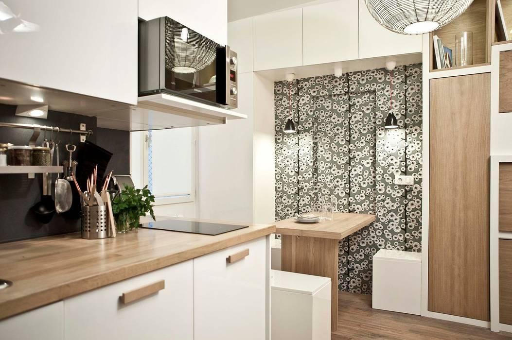 Scandinavian style dining room by Géraldine Laferté Scandinavian