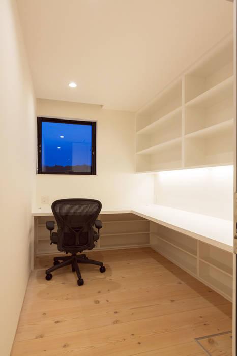 飯塚の住宅 オリジナルデザインの 書斎 の MAアーキテクト一級建築士事務所 オリジナル