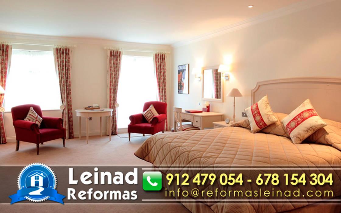 Reformas Leinad - Empresa de reformas en Madrid: Dormitorios de estilo moderno de Reformas Leinad