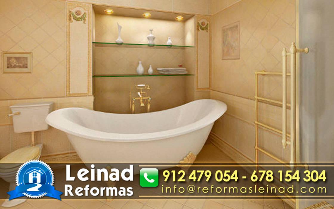 Reformas Leinad - Empresa de reformas en Madrid: Baños de estilo clásico de Reformas Leinad