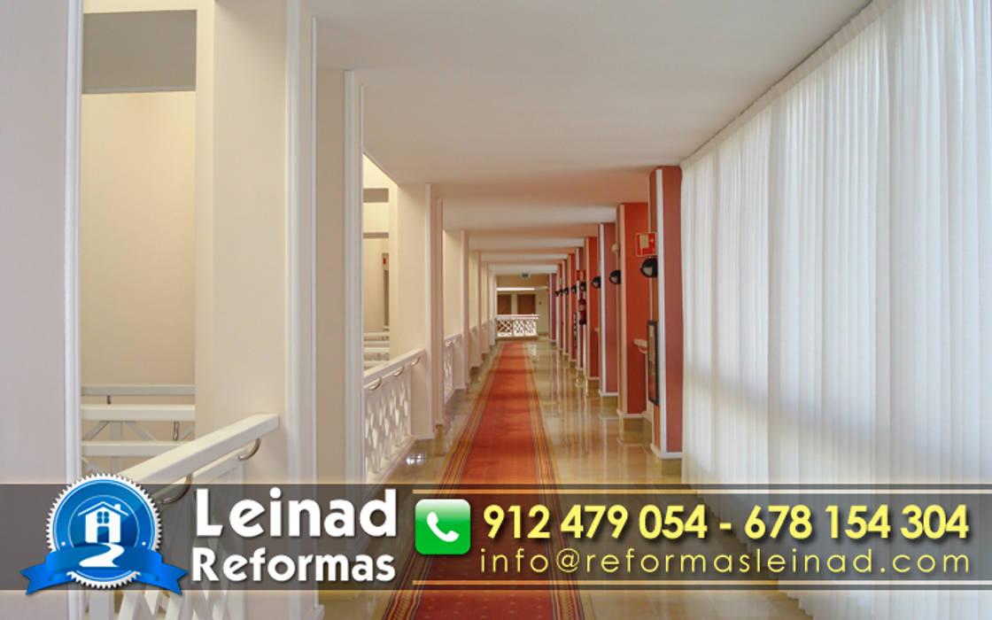 Reformas Leinad - Empresa de reformas en Madrid: Hoteles de estilo  de Reformas Leinad
