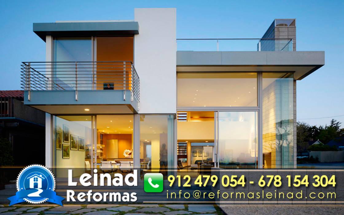 Reformas Leinad - Empresa de reformas en Madrid: Casas de estilo moderno de Reformas Leinad