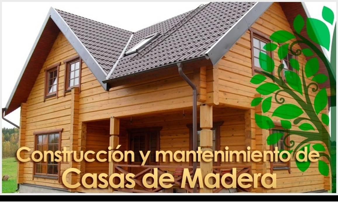 Casas de estilo rural por carpinteros valencia todo en for Casas de madera valencia