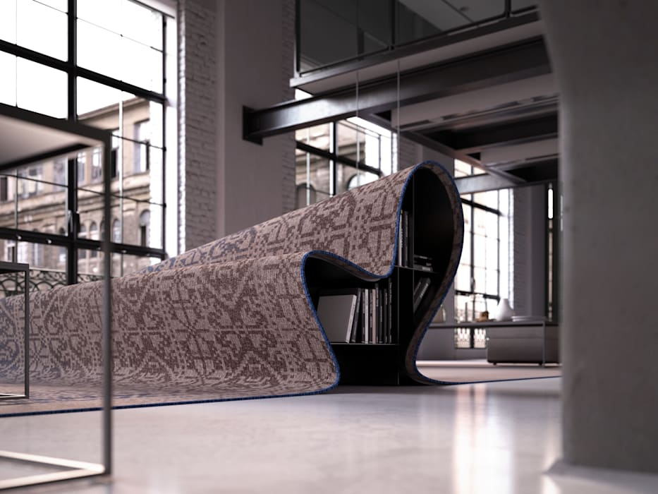 Stumble Upon Sofa: modern  by Alessandro Isola Ltd, Modern
