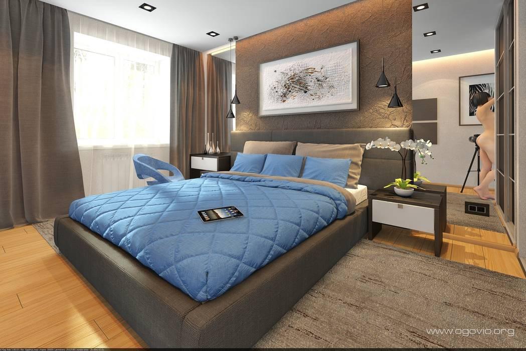 Chambre de style  par VIO design, Minimaliste