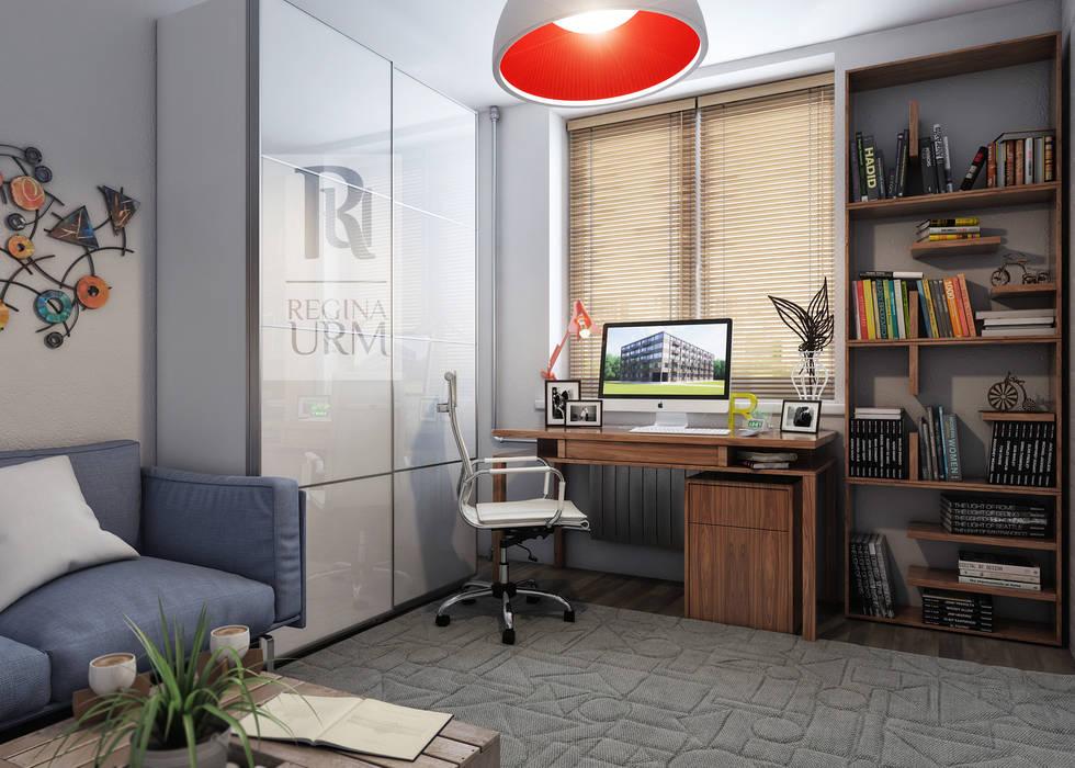 Дизайн интерьера квартиры в стиле лофт: Спальни в . Автор – Урм Регина