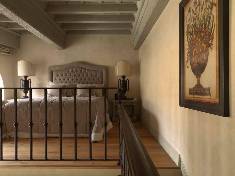 Antonio Lionetti Home Design 臥室床與床頭櫃