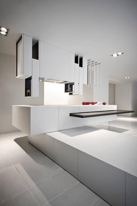 The Cut Kitchen par Alessandro Isola Ltd Moderne