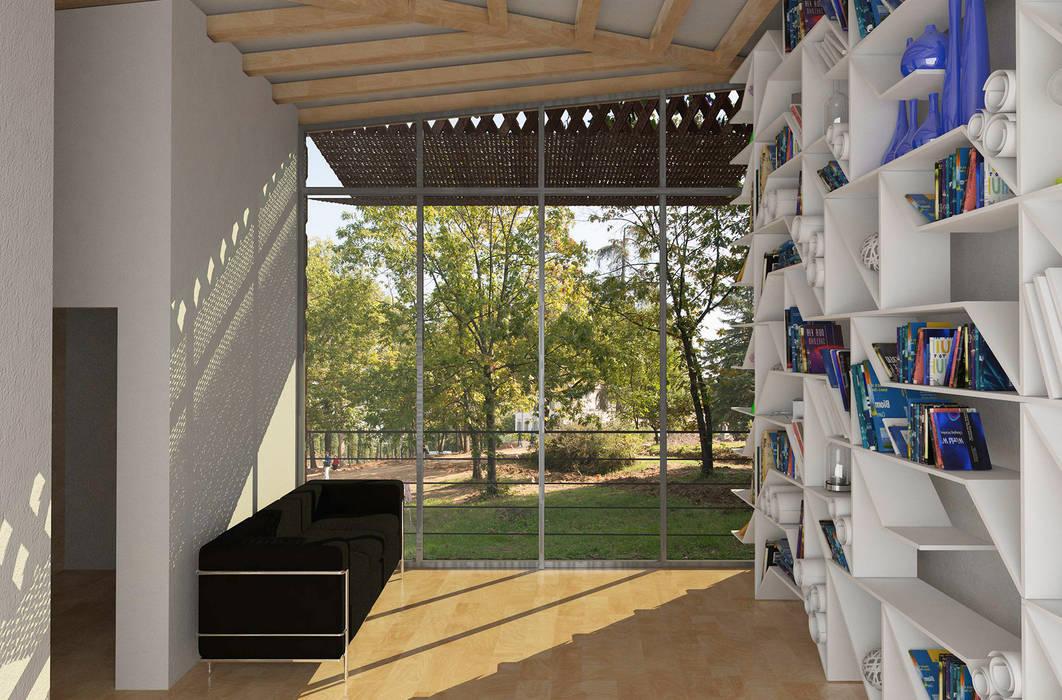 房子 by architetto Ravidà, 現代風
