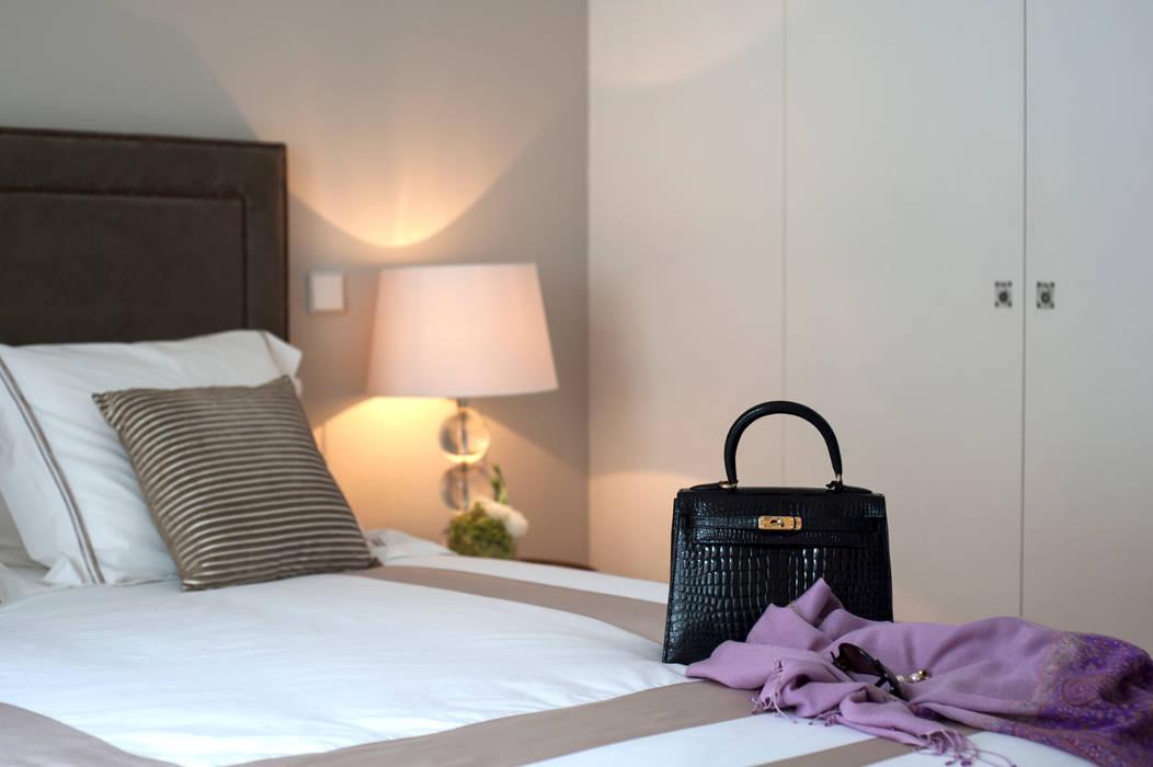 Bedroom photo shooting - Hermes acessories Staging Factory QuartoAcessórios e decoração