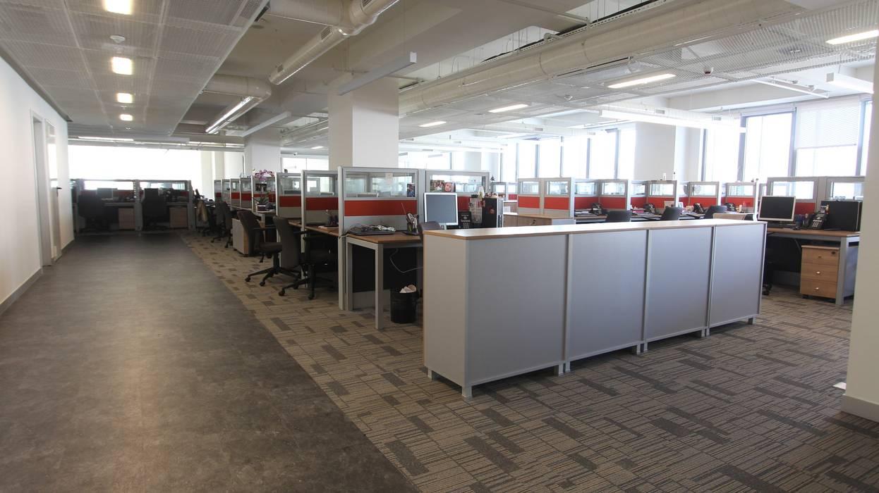 YAPIARTI MİMARLIK  – GVAS GM:  tarz Ofis Alanları, Modern