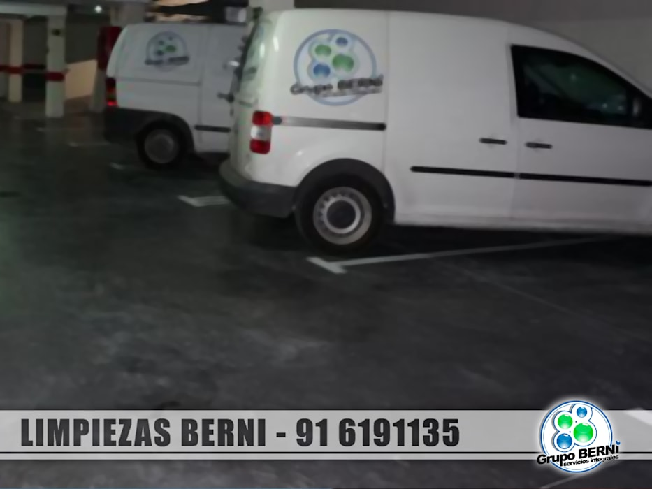 Limpiezas Berni - Servicios integrales: Garajes de estilo  de Limpiezas Berni
